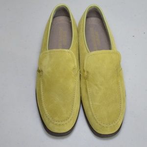 $15 Deal! Hush Puppies - Yellow suede loafers